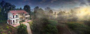 cottage-view-serenity-jungl- retreat at kanha national park